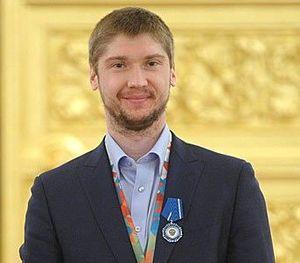 Sergei Bobrovsky - Image: Сергей Бобровский в Кремле 2014