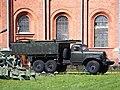 Средний понтон из лёгкого понтонного парка ЛПП на базе автомобиля ЗИЛ-157, Saint-Petersburg pic1.JPG