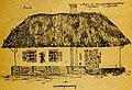 Старі хати Харкова. 1922. №50. Сторожка на Лисогорському кладовищі в Харькові.jpg