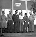 ביקור נשיא ההסתדרות הציונית חיים וייצמן משמאל- יהודית זיידמן מזכירת ה btm14262.jpeg