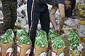 بسته بندی کمک های بشردوستانه و مردمی برای زلزله زدگان قصر شیرین Humanitarian aid- Iran Kermanshah 08.jpg
