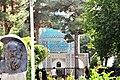 تندیس و مقبره عطار نیشابوری در یک قاب 02.jpg