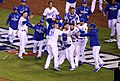 -WorldSeries Game 1- Royals celebrate (22874000362).jpg