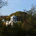 02014 Horodna am San, von Miedzybrodzie aus gesehen..JPG