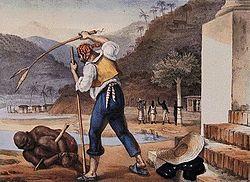 Jean-Baptiste Debret (1768-1848) foi um dos pricipais pintores das condições dos escravos no Brasil Imperial