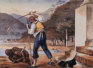 English: Slavery in Brazil, by Jean-Baptiste D...