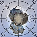 09010170 - Berlin - Bethlehem church (steel sculpture and cobblestone mosaic) - houseball sculpture SP 245.jpg