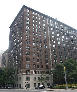 J. D. Salinger - Apartment building at 1133 Park Avenue in Manhattan, where Salinger grew up