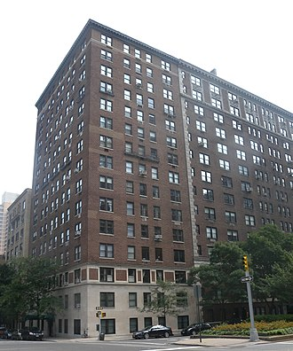 J. D. Salinger - 1133 Park Avenue in Manhattan, where Salinger grew up