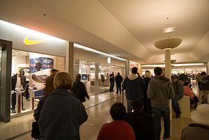 Sherway Gardens - Interior of Sherway Gardens in 2007