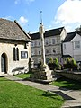 14th Century churchyard cross, St Mary's - geograph.org.uk - 1584700.jpg