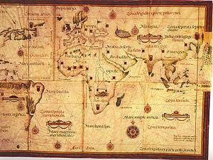 Lopo Homem - 1554 Lopo Homem world map