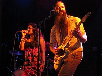 Dengue Fever (band) - Dengue Fever at the Bluebird Theater in 2012