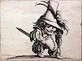 1620 Callot Zwerg mit Hängebauch und hohem Hut anagoria.JPG