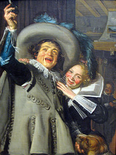 <i>Yonker Ramp and His Sweetheart</i> painting by Frans Hals