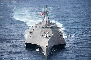 USS <i>Coronado</i> (LCS-4) Independence-class littoral combat ship