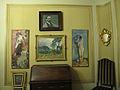 172 Casa Alegre de Sagrera (Terrassa), sala Fèlix Mestres, antic despatx.JPG