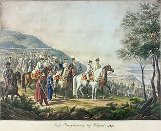 Siege of Belgrade (1789) - Archduke Francis and Laudon before Belgrade