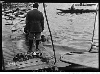 Triathlon - 1922 Course des trois sports