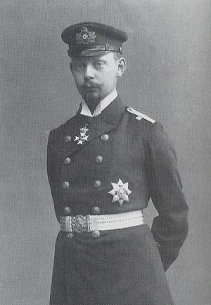 Prince Heinrich XXXII Reuss of Köstritz - A photograph of Heinrich XXXII in uniform.