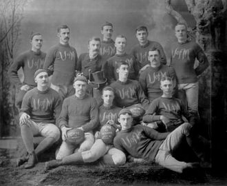 1885 Michigan Wolverines football team - Image: 1885 Michigan Wolverines football team