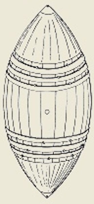 Message in a bottle - Image: 189804 Drift Cask CROPPED George Melville