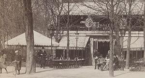 Touring club de France - Chalet du Touring Club in the Bois de Boulogne, Paris, 1898