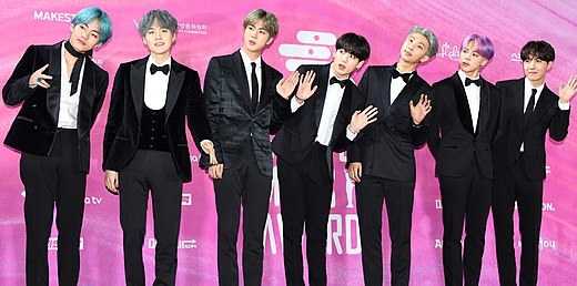 BTS (groupe) - Wikiwand
