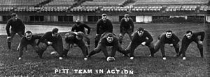 Pittsburgh Panthers football - The 1910 team went undefeated and unscored upon, and is considered by many to be the 1910 national champion