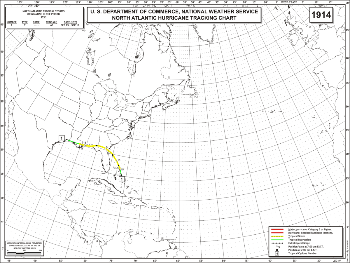 Image Result For Hurricane Landfall Map