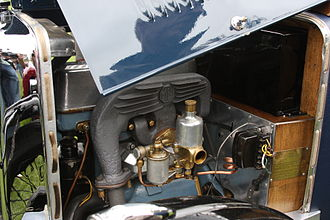 SU Carburettor - An HV type carburettor fitted to a 1930 MG M-type