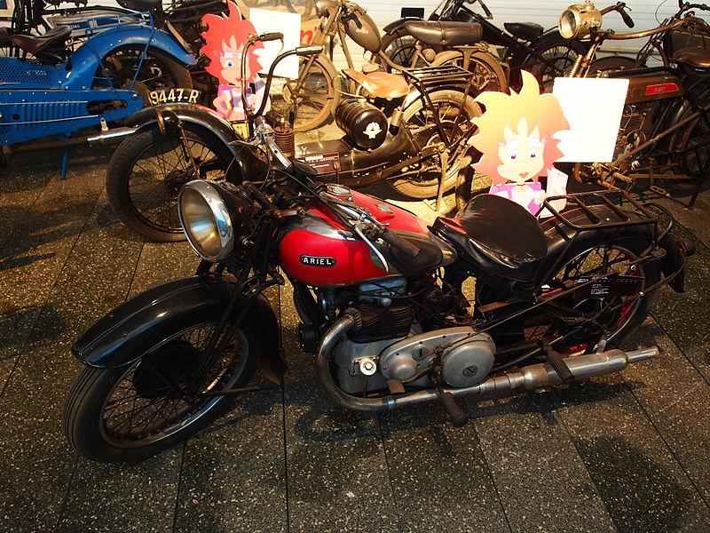 file 1933 ariel 4f  6cv  4cylinder  mus u00e9e de la moto et du v u00e9lo  amneville  france  pic