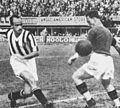 1934-35 Serie A - Giovanni Ferrari scoring for Juventus v Fiorentina in Florence.jpg