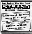 1938 - Strand Theater Ad - 28 Nov MC - Allentown PA.jpg
