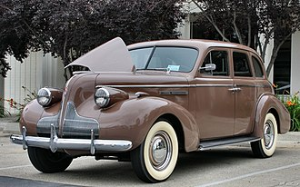 Buick Special - 1939 Buick Special Four-Door Sedan