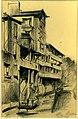 1940 vieilles maisons à PAU dessin par Léon van Dievoet juin 1940.JPG