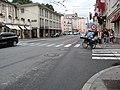 1943 - Salzburg - Schwarzstrasse at Josef-Friedrich-Hummel-Strasse.JPG