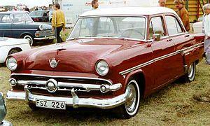 Ford Customline - 1954 Ford Customline Fordor Sedan