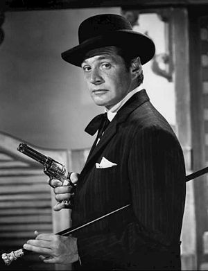 Bat Masterson (TV series) - Gene Barry as Bat Masterson, 1958