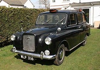 Austin FX4 - 1962 Austin FX4