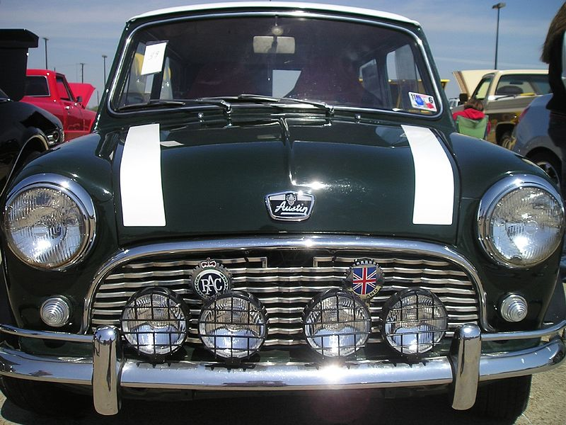 If there was no VAG ???? 800px-1963_Austin_Mini_Super_Deluxe_Closeup_Front