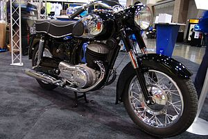 Allstate (vehicle brand) - 1965 Allstate Puch 250 SGS at the 2009 Seattle International Motorcycle Show.