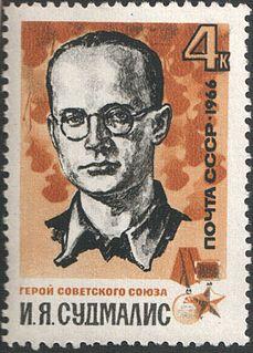 Soviet Latvian partisan
