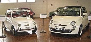 1957 Fiat 500 vs 2007 Fiat Nuova 500