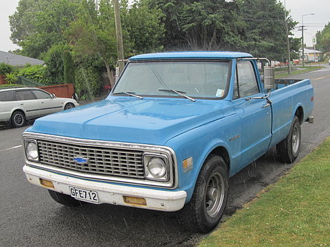 Chevrolet ck wikiwand 1971 chevrolet c 20 custom publicscrutiny Image collections
