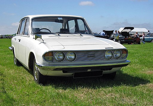 1971 Triumph 2000 sedan front modified