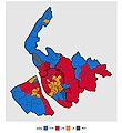 1973 Merseyside County Council election result map.jpg