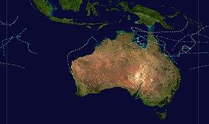 1978–79 Australian region cyclone season - Image: 1978 1979 Australian cyclone season summary