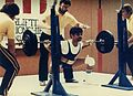 1982 US National Weightlifting Championships (IJAZ SQUAT 374 lbs).jpg