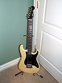 "1985 ""Contemporary"" Stratocaster, with locking tremolo system and humbucker pickups"